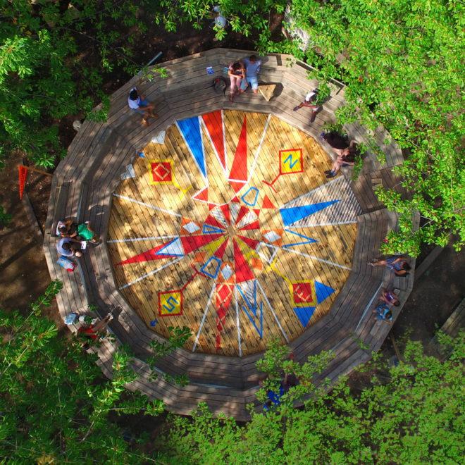 Constructlab for Mons 2015 jardin suspendu